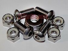 Vintage Ford Tractors - Dog Leg to Hood Bolts for 8N 2N 9N - Stainless Steel