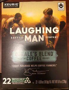 Laughing Man Dukales Blend Medium Coffee Keurig K-Cup Pods - 88 Count
