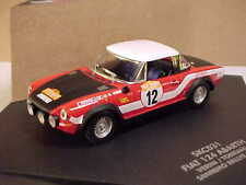 SKID MARK #SKC031 1/43 Fiat 124 Abarth, '75 Sanremo Rally #12, Verini & Torriani