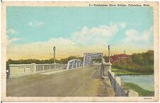 Tombigbee River Bridge in Columbus MS Postcard