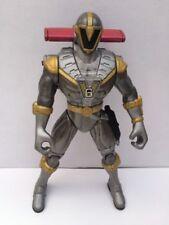 POWER RANGERS Lightspeed Rescue Mega Battle Figure Titanium Bandai 2000