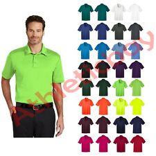 New Men's Port Authority Tall Silk Touch Performance Polo Shirt Wicks Moisture