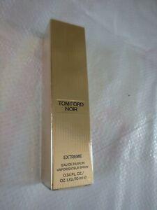 Tom Ford NOIR Extreme EDP Men's Spray .34 oz NIB Sealed Limited Scent