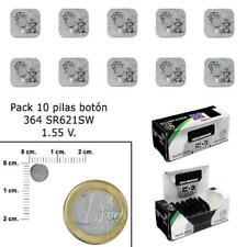 Pila Maxell Sr621sw 1.55v Silver Oxide 10 Uni Su-sr0621sw-b10
