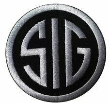 SIG  SAUER FIREARMS SUBDUED ACU GUN MORALE HOOK PATCH