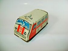 Vintage Tin Toy Car Van Bus Ambulance RAF 977  (Made in USSR)