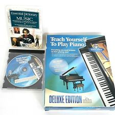 Alfred Teach Yourself to Play Piano Deluxe Edition CD-Rom Music Education