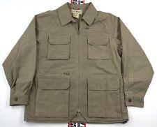 Vintage L.L. Bean Outdoorsman Jacket / Coat M Med. Fisherman / Safari 7 Pocket