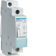 HAGER Stromstossschalter EPN510 Fernschalter Relais 1pol 1S 230V 1pol