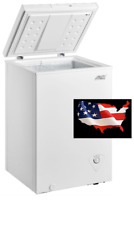 Brand New Arctic King 3.5 cu ft Chest Freezer White FREE SHIPPING - USA SELLER