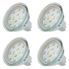 LED Lampen MR16 / GU5.3, 4x LED MR16 warmweiss 4W, SEBSON LED GU5.3 MR16 12V