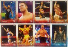 WWE 2015 TRADING CARD BASE SET OF 100 Hogan - Lesnar - AJ Lee ....topps