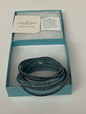 Swarovski Touchstone Crystal - DENIM WRAP STAR Bracelet - New in Box NIB