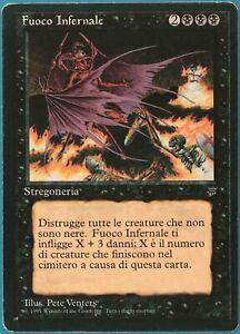 Hellfire Legends (ITALIAN) PLD Black Rare MAGIC MTG CARD (ID# 219636) ABUGames