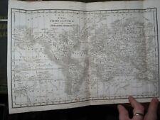 1814 WILLIAM DARTON UNION ATLAS OF 14 ENGRAVED MAPS HINDOOSTAN IRELAND USA INDIA