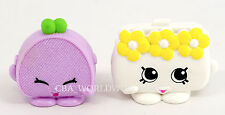 NEW Shopkins McDonalds 2015 Connie Coin Bag M-018 & Carrie Clutch M-009 SET OF 2