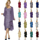 New Mother of The Bride Dress Chiffon Jacket & Lace Dress Formal Dress Ball Gown