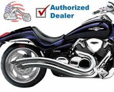 Cobra Chrome Speedster Swept Exhaust Pipes 06-14 Suzuki 1800 VZR Boulevard M109R