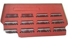 Con-Cor Merchandise Service Add On Set N Scale Train Set 12 Pieces