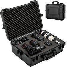 Foto hard case box bag camera photography travel protective waterproof black
