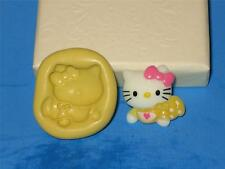 Baby Hello Kitty Push Mold Food Safe Silicone Cake Chocolate Resin Clay A282
