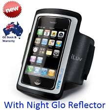 iLUV iPhone iPod Sport Light Weight Armband Black