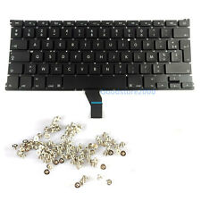 "Macbook Air 13"" A1369 A1466 French Keyboard 2011 2012 MC965 MC966 MD231 MD232"