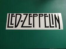 DEL Zeppelin logo-Voiture/Van/Camper/Vélo Autocollant Sticker Vinyle Graphique