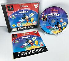 Lernen mit Mickey-Sony Playstation 1 Disney Spiel (EU/Deutsch) (ps1 PAL) (2002)