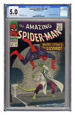 Amazing Spider-Man #44, CGC 5.0 with off-white to white pages.