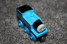 Thomas the Train Wooden Railway & Friends Tank Engine Blue Smiling 2002 Wood Toy