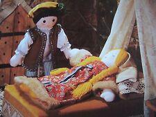 Vintage Sewing Pattern Jean Greenhowe Bella Addormentata & Il Principe Bambola Giocattolo