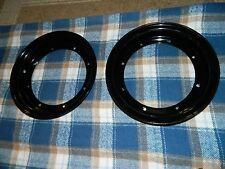 "HONDA CT70 ct 70 ST70 DAX 10"" rims set of 4 painted black new metal w/ bolts"