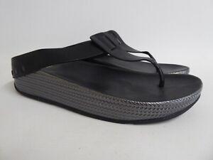 Fitflop - Women's 'Ibiza' Black Flip-Flop - UK Size 9