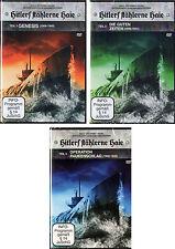 Hitlers stählerne Haie Teil 1 bis 3 - 3 DVD Sammlung NEU Doku Reihe Weltkrieg