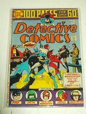 DETECTIVE COMICS #443 FN (6.0) DC COMICS 100 PAGES NOVEMBER 1974+