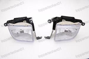 RIGHT LEFT FOG LIGHTS BUMPER DRIVING LAMPS For Chevrolet Optra 4DR 2004-2007