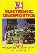 Car Mechanics Electronic Diagnostics Reprint Books Vol 2