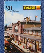 Faller Modelmaking Catalogue