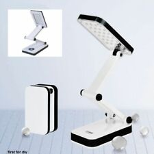 30 LED SMD Foldable Portable Rechargeable Study Table Desk Reading Light Lamp