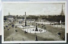 AK Feldpost | 2. Weltkrieg | WW2 | Paris - Place de la Concord / Eifelturm - rar