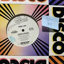 Free Life Dance Fantasy Epic AS 677 VG+- Promo Disco 12""