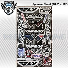MOTOCROSS MOTORCYCLE DIRT BIKE ATV HELMET SPONSOR LOGO RACE STICKER DECAL #IVR4J
