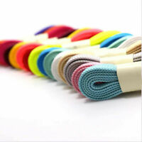 Thick-Flat Fat Shoe Laces Wide Shoelaces All Shoe Types Trainer Boot Shoes