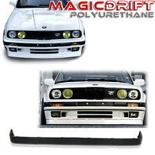 84-92 BMW E30 3-SERIES LOWER VALANCE V2 IS M-TECH STYLE FRONT BUMPER LIP SPOILER