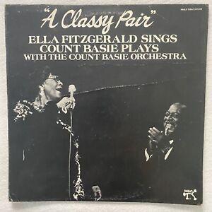 ELLA FITZGERAD & COUNT BASIE A Classy Pair LP 1982 big band swing jazz VG+/VG+