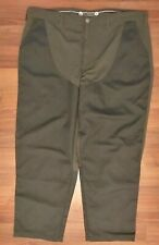 LL Bean 44x33 Hunting Shooting Pants Green on Green Sewn in Tick Cuff Insert (A)