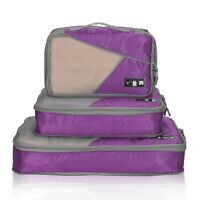 Sea Octopus 3 Set Packing Cubes,2 Various Sizes Travel Luggage Packing Organizers h