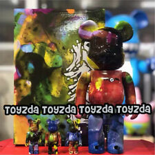 Medicom 2018 Pushead 400% + 100% diversi colori BEARBRICK Be@rbrick 4pcs Set