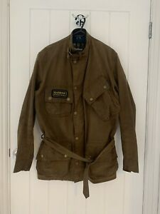 Barbour International Tan Steve Mcqueen Wax Jacket